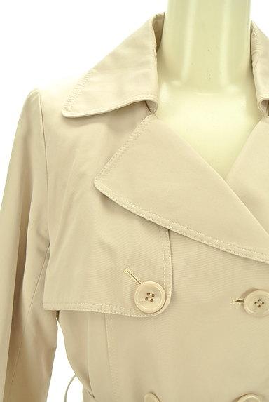 JUSGLITTY(ジャスグリッティー)の古着「ウエストリボンロングトレンチコート(トレンチコート)」大画像4へ