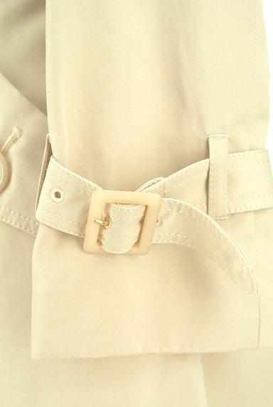 JUSGLITTY(ジャスグリッティー)の古着「ウエストリボンロングトレンチコート(トレンチコート)」大画像5へ