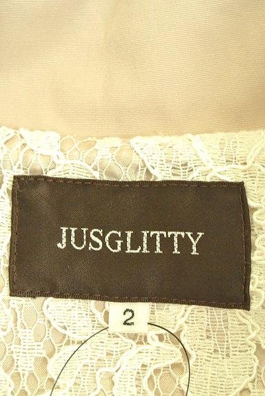 JUSGLITTY(ジャスグリッティー)の古着「ウエストリボンロングトレンチコート(トレンチコート)」大画像6へ