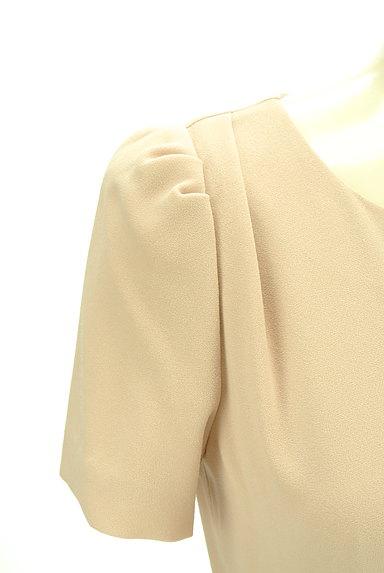 JUSGLITTY(ジャスグリッティー)の古着「ウエストデザイン膝丈ワンピース(ワンピース・チュニック)」大画像4へ