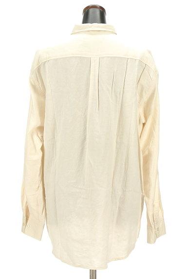 drug store's(ドラッグストアーズ)の古着「ブタさん刺繍変形ロングシャツ(カジュアルシャツ)」大画像2へ