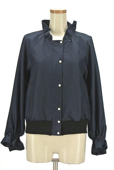 Jines(ジネス)の古着「フリル襟ブルゾン(ブルゾン・スタジャン)」大画像1へ