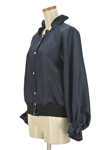 Jines(ジネス)の古着「フリル襟ブルゾン(ブルゾン・スタジャン)」大画像3へ