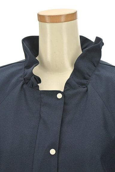 Jines(ジネス)の古着「フリル襟ブルゾン(ブルゾン・スタジャン)」大画像4へ