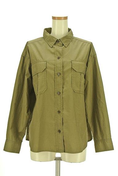 Rouge vif La cle(ルージュヴィフラクレ)の古着「ワイドミリタリーシャツ(カジュアルシャツ)」大画像1へ