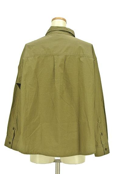 Rouge vif La cle(ルージュヴィフラクレ)の古着「ワイドミリタリーシャツ(カジュアルシャツ)」大画像2へ