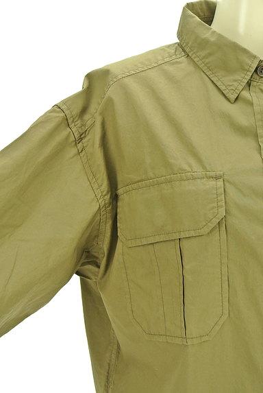 Rouge vif La cle(ルージュヴィフラクレ)の古着「ワイドミリタリーシャツ(カジュアルシャツ)」大画像4へ