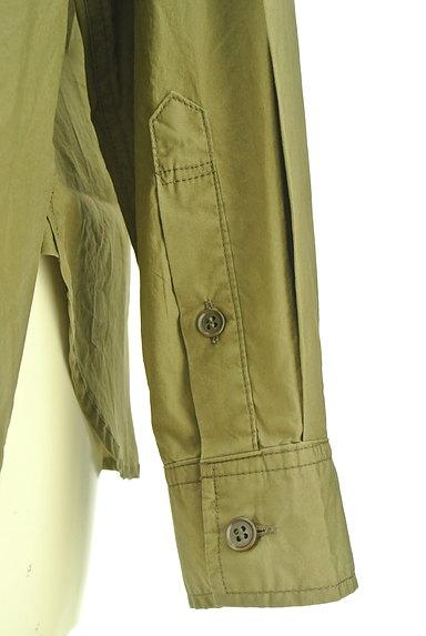 Rouge vif La cle(ルージュヴィフラクレ)の古着「ワイドミリタリーシャツ(カジュアルシャツ)」大画像5へ