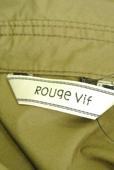 Rouge vif La cle(ルージュヴィフラクレ)の古着「ワイドミリタリーシャツ(カジュアルシャツ)」大画像6へ
