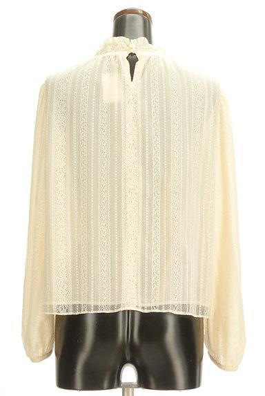 Rouge vif La cle(ルージュヴィフラクレ)の古着「ギャザーハイネックカットソー(カットソー・プルオーバー)」大画像2へ
