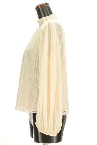 Rouge vif La cle(ルージュヴィフラクレ)の古着「ギャザーハイネックカットソー(カットソー・プルオーバー)」大画像3へ