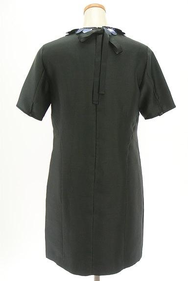 MAX&Co.(マックス&コー)の古着「ネックレス付き艶ワンピース(ワンピース・チュニック)」大画像2へ