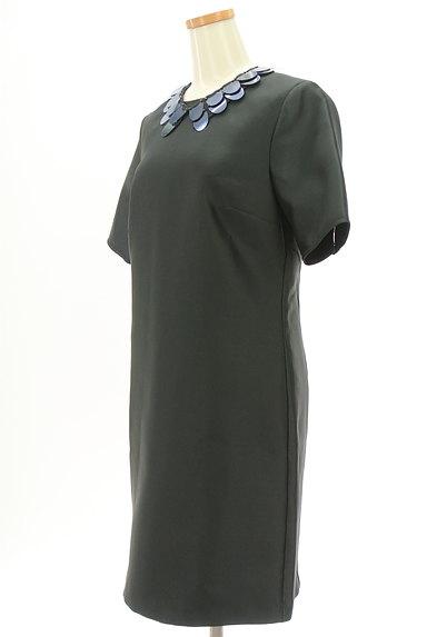 MAX&Co.(マックス&コー)の古着「ネックレス付き艶ワンピース(ワンピース・チュニック)」大画像3へ