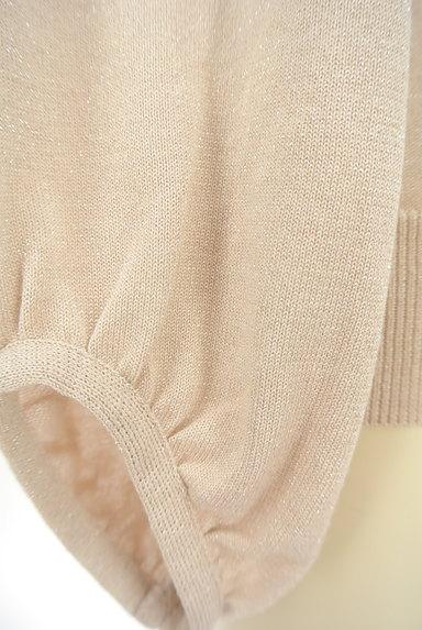 UNTITLED(アンタイトル)の古着「袖ギャザーラメニット(ニット)」大画像5へ