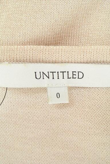 UNTITLED(アンタイトル)の古着「袖ギャザーラメニット(ニット)」大画像6へ