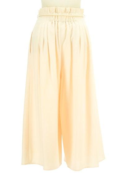 MERCURYDUO(マーキュリーデュオ)の古着「ロープベルト付きタックワイドパンツ(パンツ)」大画像2へ
