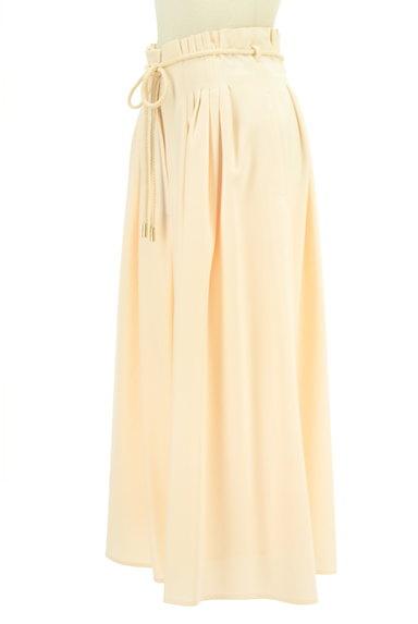 MERCURYDUO(マーキュリーデュオ)の古着「ロープベルト付きタックワイドパンツ(パンツ)」大画像3へ