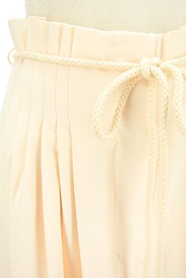 MERCURYDUO(マーキュリーデュオ)の古着「ロープベルト付きタックワイドパンツ(パンツ)」大画像4へ