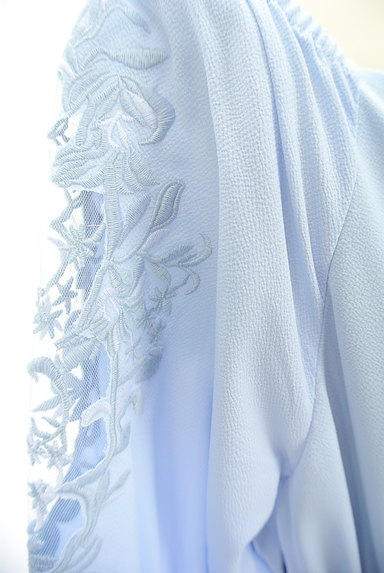 MERCURYDUO(マーキュリーデュオ)の古着「刺繍七分袖ワンピース(ワンピース・チュニック)」大画像4へ