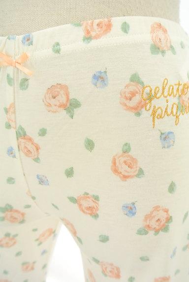 gelato pique(ジェラートピケ)の古着「花柄レギンス(パンツ)」大画像4へ