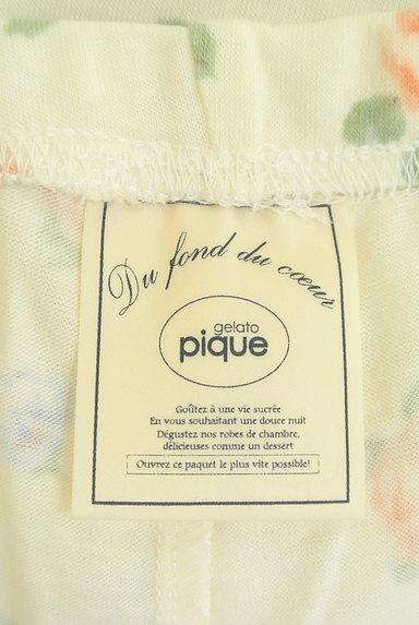 gelato pique(ジェラートピケ)の古着「花柄レギンス(パンツ)」大画像6へ