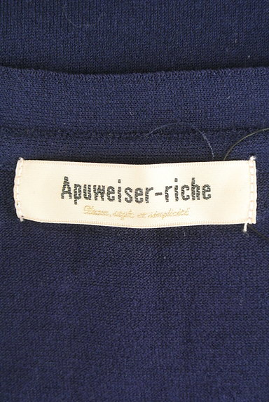 Apuweiser riche(アプワイザーリッシェ)の古着「七分袖フロントオープンカーディガン(カーディガン・ボレロ)」大画像6へ