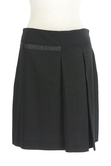 KOOKAI(クーカイ)の古着「サイドスリット+タックミニスカート(ミニスカート)」大画像1へ
