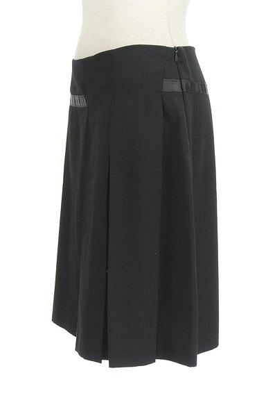 KOOKAI(クーカイ)の古着「サイドスリット+タックミニスカート(ミニスカート)」大画像3へ
