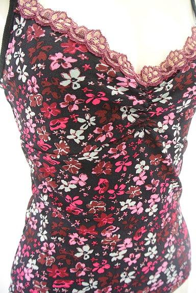 KOOKAI(クーカイ)の古着「花柄シフォンキャミセットアップ(セットアップ(ジャケット+スカート))」大画像4へ