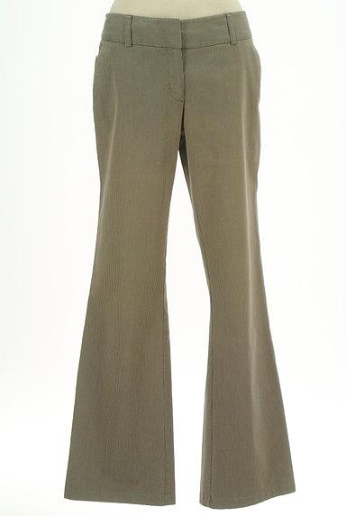 KOOKAI(クーカイ)の古着「ストライプ柄ブーツカットパンツ(パンツ)」大画像1へ