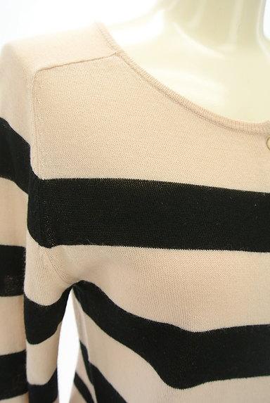 STRAWBERRY-FIELDS(ストロベリーフィールズ)の古着「ボーダーカーディガン(カーディガン・ボレロ)」大画像4へ