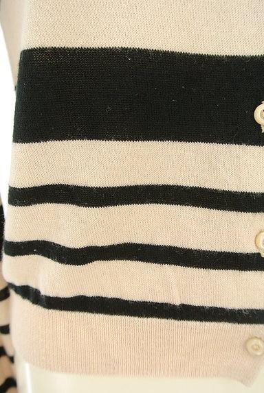 STRAWBERRY-FIELDS(ストロベリーフィールズ)の古着「ボーダーカーディガン(カーディガン・ボレロ)」大画像5へ