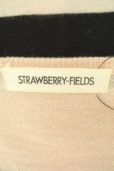 STRAWBERRY-FIELDS(ストロベリーフィールズ)の古着「ボーダーカーディガン(カーディガン・ボレロ)」大画像6へ