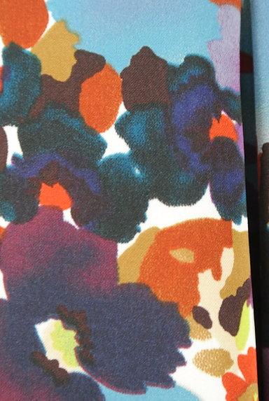 LUI CHANTANT(ルイシャンタン)の古着「膝下丈花柄サテンスカート(スカート)」大画像5へ