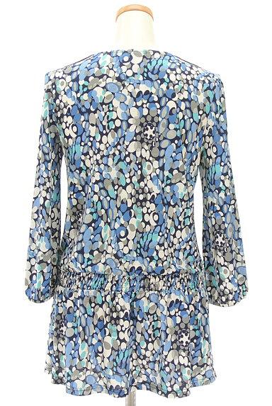 LUI CHANTANT(ルイシャンタン)の古着「花刺繍レース付き総柄ワンピース(ワンピース・チュニック)」大画像2へ