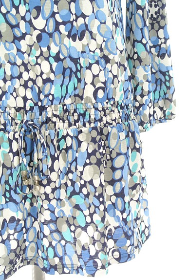 LUI CHANTANT(ルイシャンタン)の古着「花刺繍レース付き総柄ワンピース(ワンピース・チュニック)」大画像5へ
