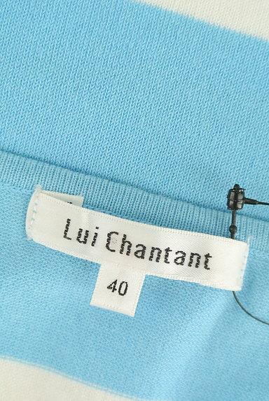 LUI CHANTANT(ルイシャンタン)の古着「ボーダーコンパクトニット(ニット)」大画像6へ