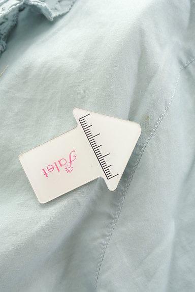INGEBORG(インゲボルグ)の古着「七分袖フリルコットンブラウス(ブラウス)」大画像5へ