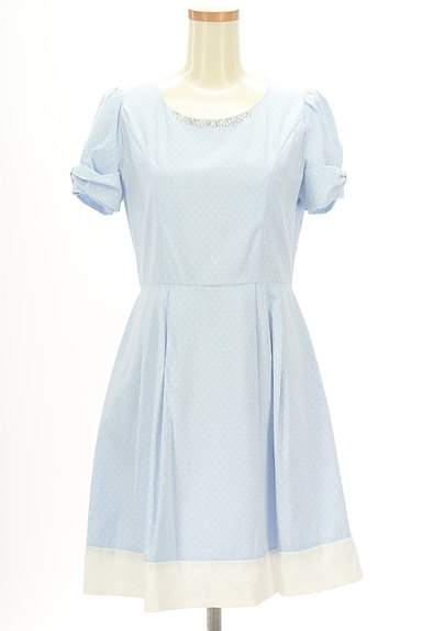 LODISPOTTO(ロディスポット)の古着「装飾裾レースワンピース(ワンピース・チュニック)」大画像1へ