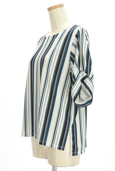 LAUTREAMONT(ロートレアモン)の古着「ボリューム袖シフォンブラウス(カットソー・プルオーバー)」大画像3へ