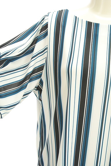 LAUTREAMONT(ロートレアモン)の古着「ボリューム袖シフォンブラウス(カットソー・プルオーバー)」大画像4へ