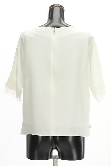 LAUTREAMONT(ロートレアモン)の古着「袖口レースドルマンシフォンブラウス(カットソー・プルオーバー)」大画像2へ