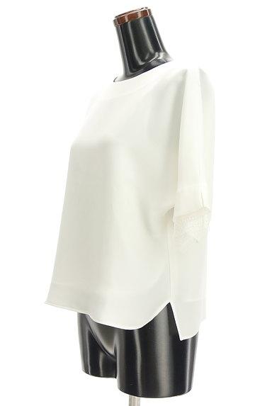 LAUTREAMONT(ロートレアモン)の古着「袖口レースドルマンシフォンブラウス(カットソー・プルオーバー)」大画像3へ