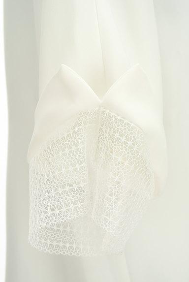 LAUTREAMONT(ロートレアモン)の古着「袖口レースドルマンシフォンブラウス(カットソー・プルオーバー)」大画像4へ