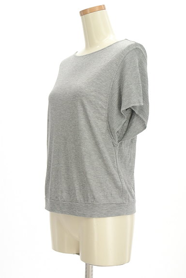 LAUTREAMONT(ロートレアモン)の古着「袖ニットカットソー(カットソー・プルオーバー)」大画像3へ