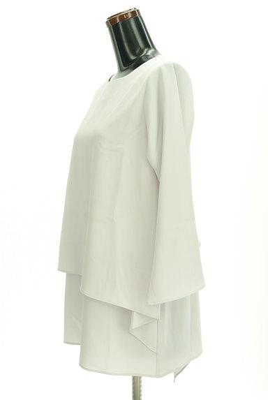 LAUTREAMONT(ロートレアモン)の古着「レイヤード風シフォンブラウス(カットソー・プルオーバー)」大画像3へ