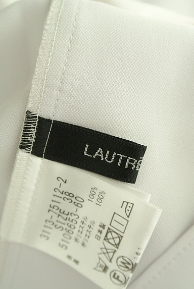 LAUTREAMONT(ロートレアモン)の古着「レイヤード風シフォンブラウス(カットソー・プルオーバー)」大画像6へ