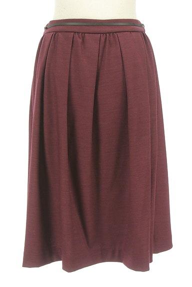 COMME CA DU MODE(コムサデモード)の古着「コードベルト付きタックフレアスカート(スカート)」大画像2へ