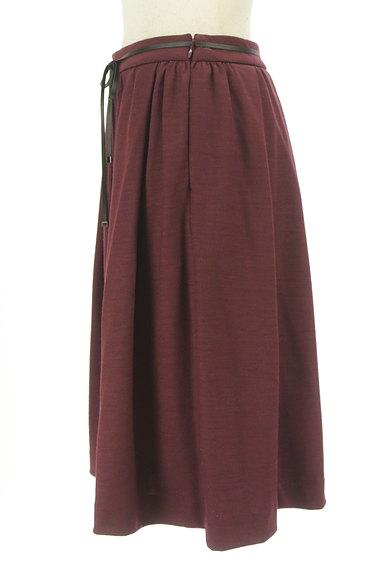 COMME CA DU MODE(コムサデモード)の古着「コードベルト付きタックフレアスカート(スカート)」大画像3へ
