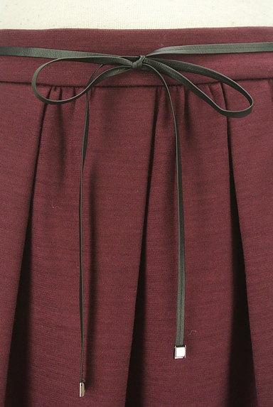 COMME CA DU MODE(コムサデモード)の古着「コードベルト付きタックフレアスカート(スカート)」大画像4へ